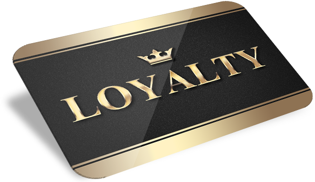 loyalty hair salon card